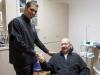 Dr. Cesar Monarrez in Los Algodones with a US patient