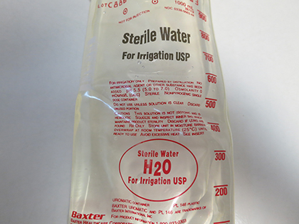 Mexico dental water safety: Use sterile water for oral surgeries
