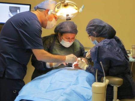 All on 4 dental implants in Los Algdones, Mexico