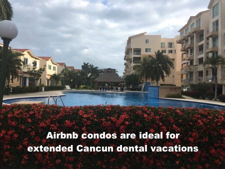 Where to stay for longer dental trips to Cancun